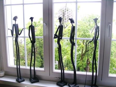 stahl skulpturen. Black Bedroom Furniture Sets. Home Design Ideas