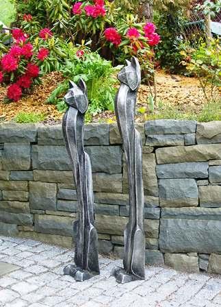 Stahl skulpturen for Metallskulpturen garten